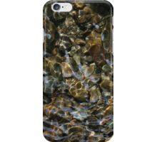 Light Through Water Over Rocks iPhone Case/Skin