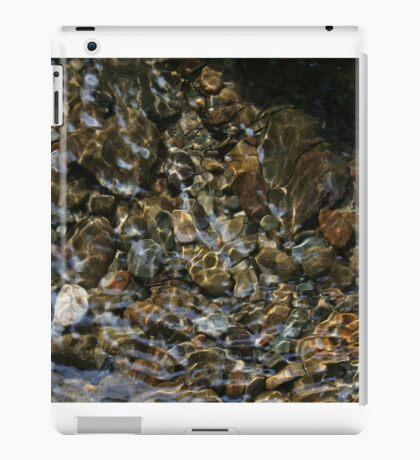 Light Through Water Over Rocks iPad Case/Skin