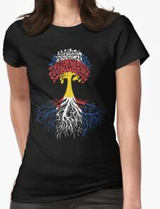 CO Life Tree Womens Fitted T-Shirt