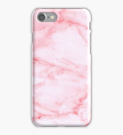 Pink Marble iPhone Case/Skin