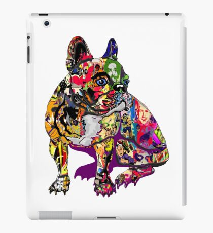 Graffiti dog iPad Case/Skin