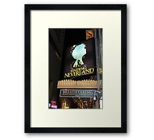 NYC Finding Neverland Broadway Framed Print