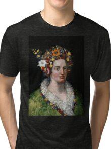 "Giuseppe Arcimboldo ""Flora"" Tri-blend T-Shirt"