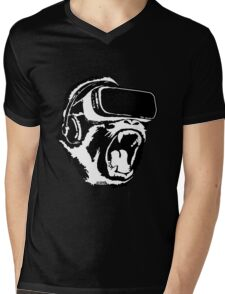 VR Gorilla Mens V-Neck T-Shirt