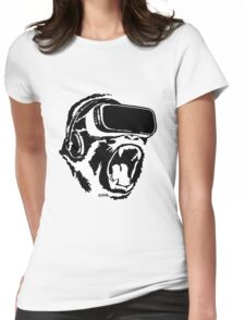VR Gorilla Womens Fitted T-Shirt