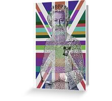 God Shave the Queen! Greeting Card