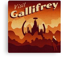 Travel to Gallifrey Canvas Print