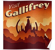 Travel to Gallifrey Poster
