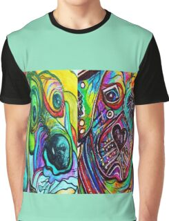 SERIOUS FACES Graphic T-Shirt