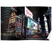 NYC Times Square Artwork Poster