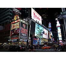 NYC Times Square Artwork Photographic Print