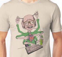 Crazy Multitasking Nerd Unisex T-Shirt