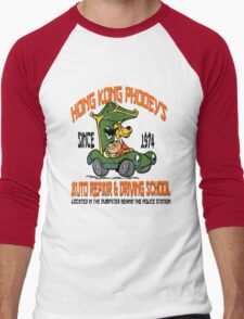 Hong Kong Phooey's Auto Repair & Driving School Men's Baseball ¾ T-Shirt