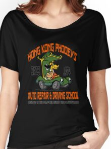 Hong Kong Phooey's Auto Repair & Driving School Women's Relaxed Fit T-Shirt