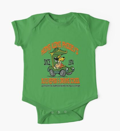 Hong Kong Phooey's Auto Repair & Driving School One Piece - Short Sleeve
