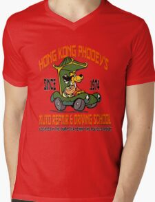 Hong Kong Phooey's Auto Repair & Driving School Mens V-Neck T-Shirt