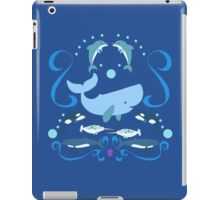 Having a whale of a time iPad Case/Skin