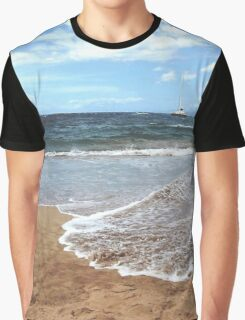 """Backyard""....Da Beach Graphic T-Shirt"
