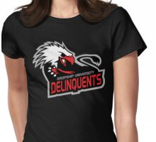 Dropship University Deliquents Womens Fitted T-Shirt