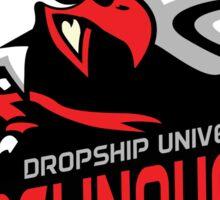 Dropship University Deliquents Sticker
