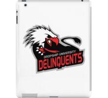 Dropship University Deliquents iPad Case/Skin