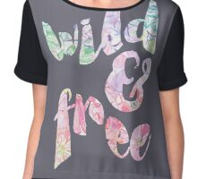 Wild And Free Florals Chiffon Top
