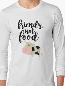 Friends Not Food - Vegan  Long Sleeve T-Shirt