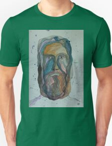 Face with Beard Unisex T-Shirt