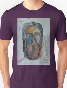 Face with Beard Unisex T-Shirt