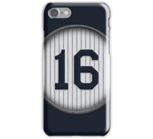 16 - Chairman of the Board iPhone Case/Skin