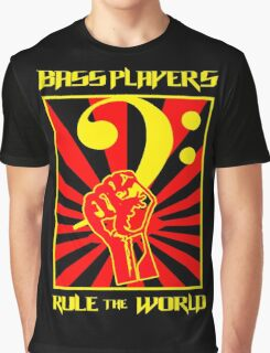 Bass Players - Rule The World Graphic T-Shirt