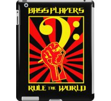 Bass Players - Rule The World iPad Case/Skin