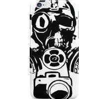 Urban Exploration Gas Mask Photography iPhone Case/Skin