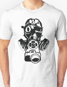 Urban Exploration Gas Mask Photography Unisex T-Shirt