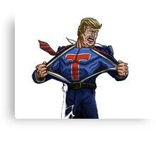 Super Trump Canvas Print