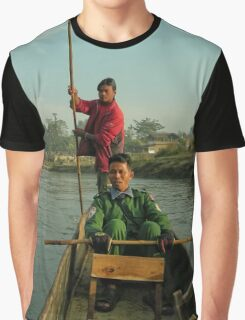 Canoe Punt Graphic T-Shirt