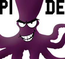 Octopi Detroit Sticker