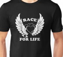 I Race For Life, Wings For Life Unisex T-Shirt