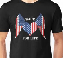 American Race for life Unisex T-Shirt