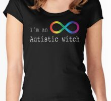 Autistic Witch 2 Women's Fitted Scoop T-Shirt