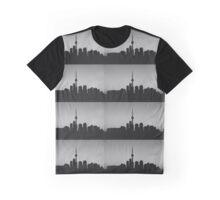 Toronto Skyline Art Graphic T-Shirt