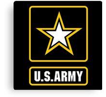 US Army logo Canvas Print