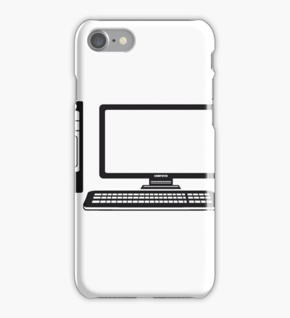 mouse keyboard screen tv pc computer display picture cool design iPhone Case/Skin