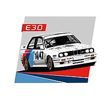 e30 WTCC Race Car Photographic Print