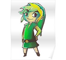 Toon Link Poster