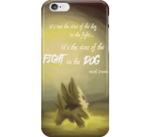 Fight in the Dog iPhone Case/Skin