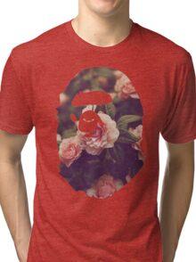 BAPE Floral Tri-blend T-Shirt