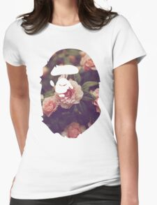 BAPE Floral Womens Fitted T-Shirt