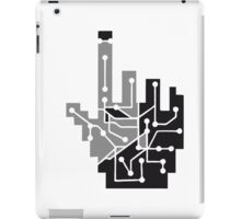 Show mouse hand click computer pc online circuitry pointer arrow control online vote electronically pattern cyborg iPad Case/Skin