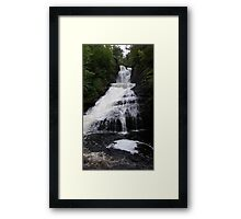 Wide Waterfall Framed Print